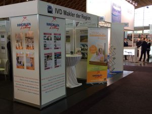 Messestand Immobilienliebling